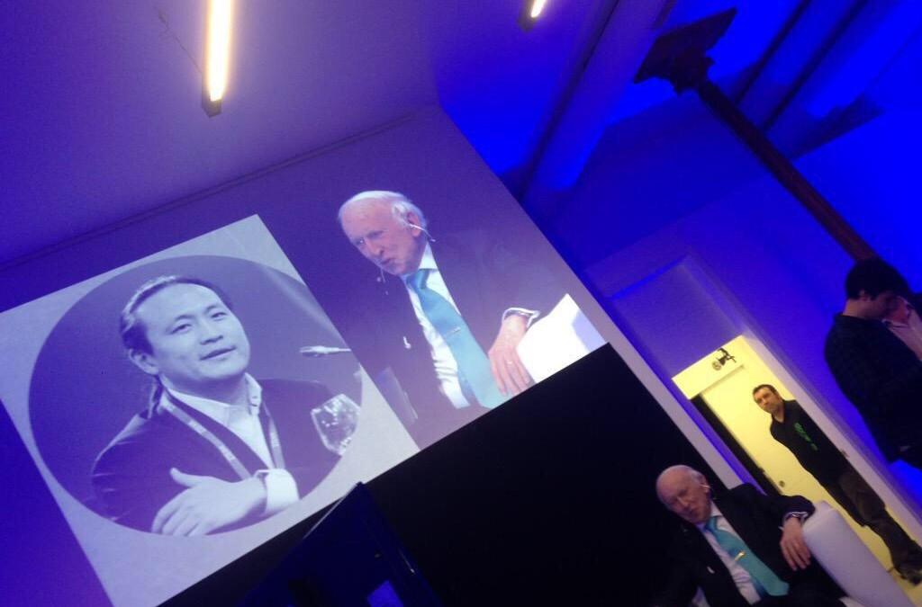 Leopoldo Abadía y Didac Lee juntos en el evento de Diners Club Spain