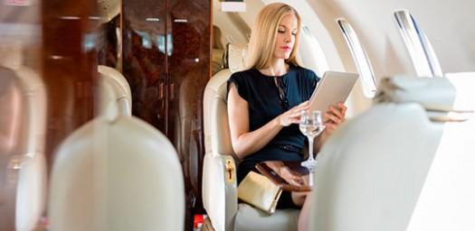 La tecnología de las compañías aéreas es cada vez mejor.