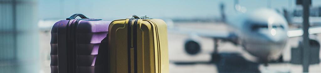 Maletas perdidas en el aeropuerto