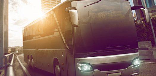 Tecnología en autobus para viaje grupo empresa