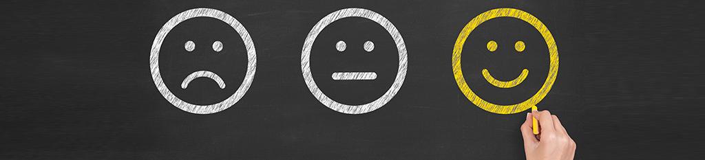 Iconos emociones faciales