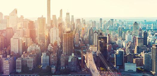Vista aérea Nueva York