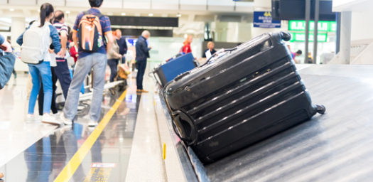 Cinta transportadora equipaje
