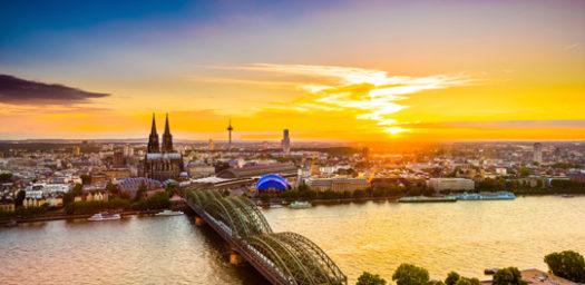Puesta de sol en Colonia
