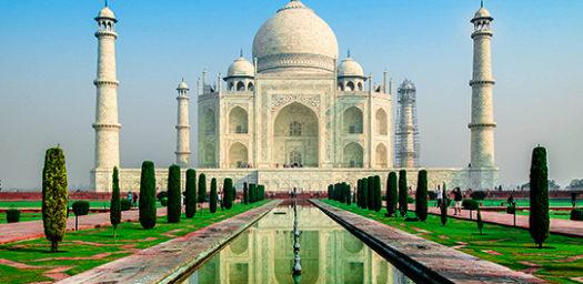 Monumento Taj Mahal en India