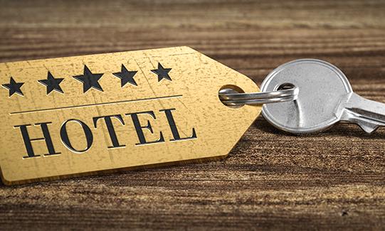 Llave habitación hotel