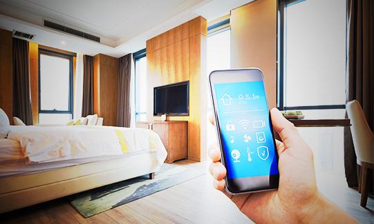 ¿Cómo funciona la digitalización y automatización móvil en los hoteles?