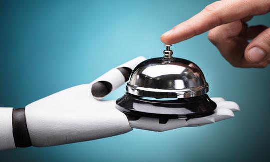 Viajes de negocios y robotización de los hoteles