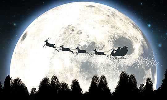 Papá Noel, viajero de negocios del año