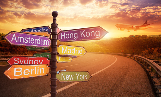 Vuelta al mundo y viajes de negocios