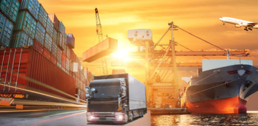Transporte logístico internacional
