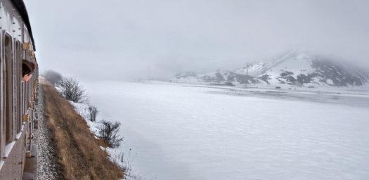 Recorrido nevado Transiberiano