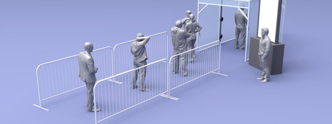 Simulación acceso seguro a evento