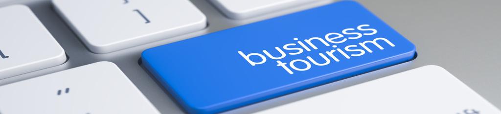 Teclado con botón business tourism