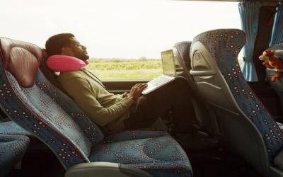 Viajar en autobús hoy día