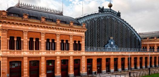 Vista exterior de la estación de Atocha en Madrid