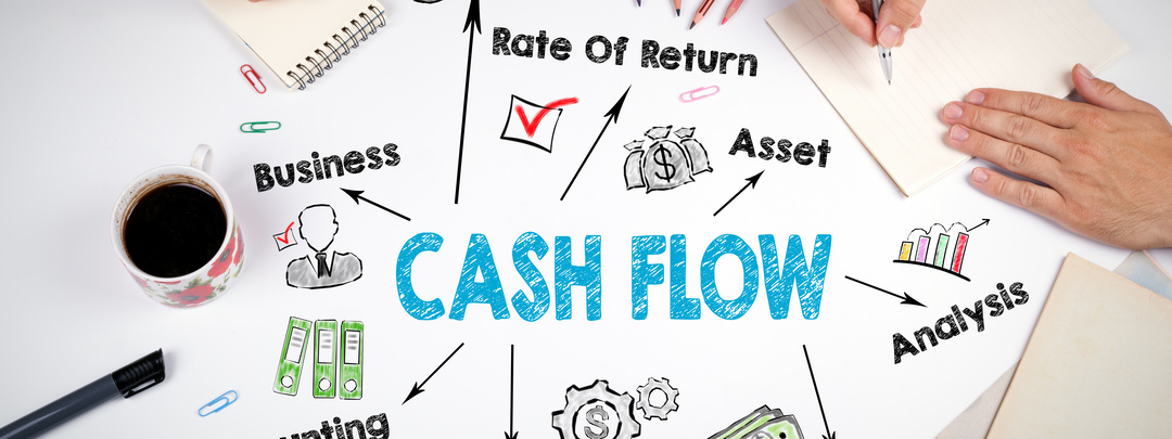 Poster visual thinking cash flow